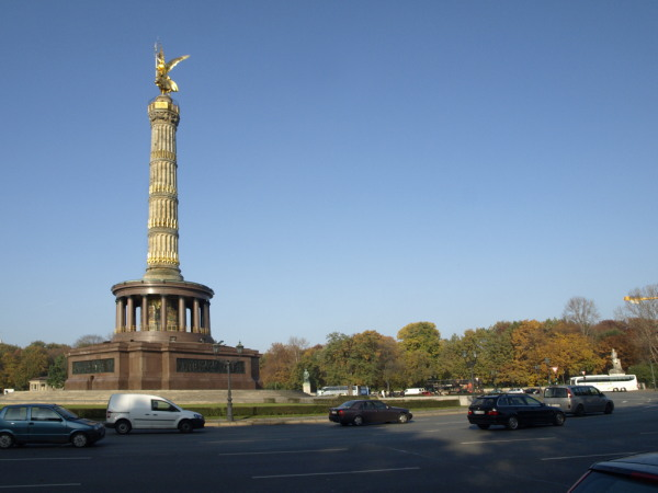 Berlin. Die Siegessaule.