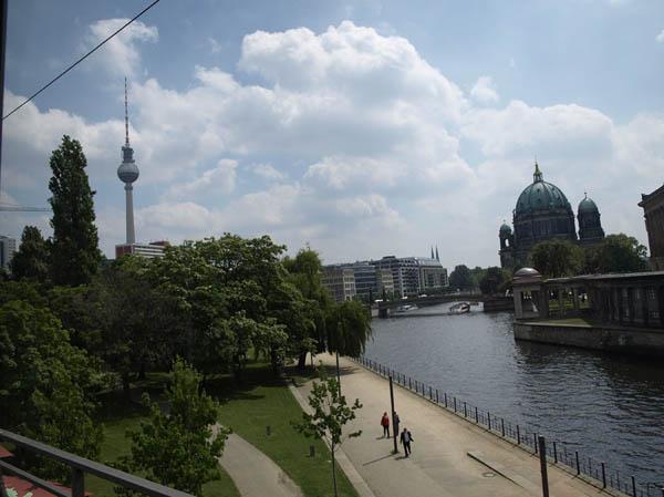 BERLIN. Spree.