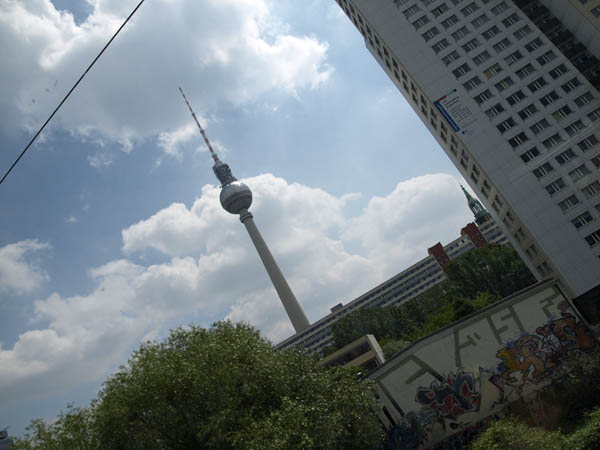 BERLIN. FERNSEHTURM.