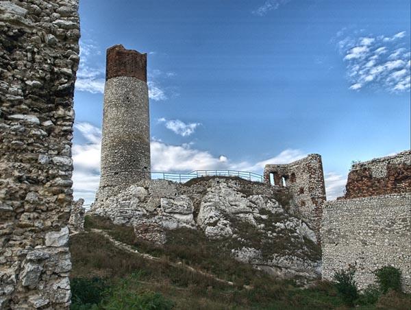OLSZTYN. Zamek 2